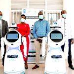 Robots Fight COVID-19 In Rwanda