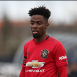 Man Utd player, Angel Gomes reacts to viral video of his visit to TB Joshua's church
