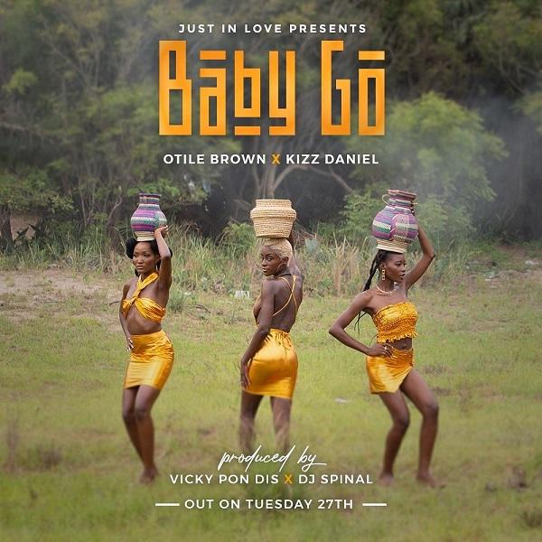 Otile Brown – Baby Go ft. Kizz Daniel